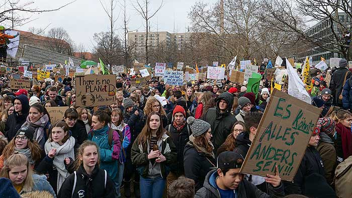 Fridays for Future, Berlin, 25 januari 2019, foto: Leonhard Lenz [CC0]