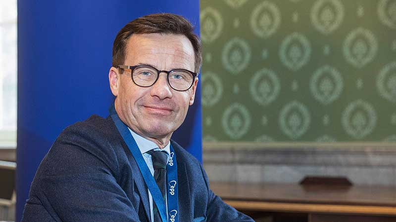 Ulf Kristersson. Foto: European People's Party [CC BY 2.0 (https://creativecommons.org/licenses/by/2.0)]